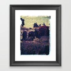 Mission in Lavender Framed Art Print