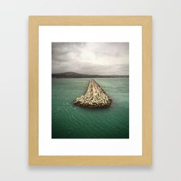 A Dream of Greece Framed Art Print