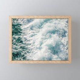 Foamy Waves Framed Mini Art Print