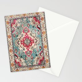 N132 - Heritage Oriental Traditional Vintage Moroccan Style Design Stationery Cards
