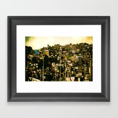 Favela Framed Art Print