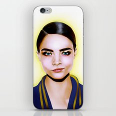Cara Delevingne iPhone & iPod Skin