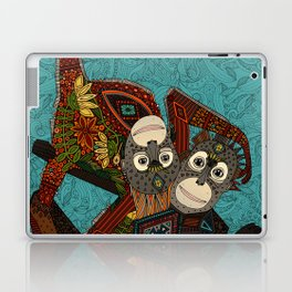 orangutans blue Laptop & iPad Skin
