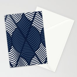 Indie in Navy Blue Stationery Cards