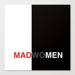 MADWOMEN Canvas Print