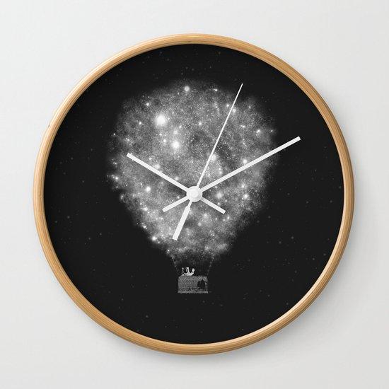 Supernova Sky Ride Wall Clock