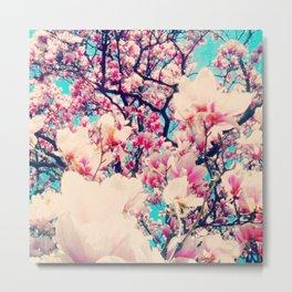 Flowerbomb Metal Print
