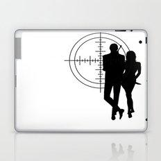 Double Oh Target... Laptop & iPad Skin
