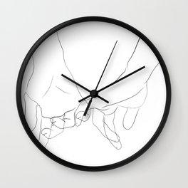 promesse Wall Clock