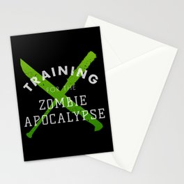 Training: Zombie Apocalypse Stationery Cards