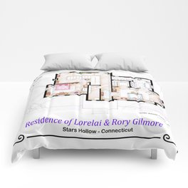 House of Lorelai & Rory Gilmore from GILMORE GIRLS - First Floor Comforters