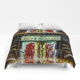 Ferguson Tractor Logo ~ Little Grey Fergie ~ Vintage ~ Ginkelmier Inspired Comforters