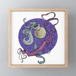 Aquarius zodiac Framed Mini Art Print