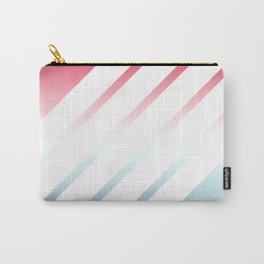 5 White Stripes Carry-All Pouch
