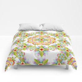 Starflower Blossoms Comforters