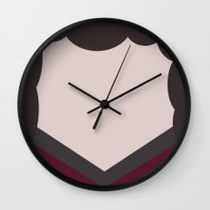 Deanna Troi - Minimalist Star Trek TNG The Next Generation - 1701 D - startrek - Trektangles Wall Clock