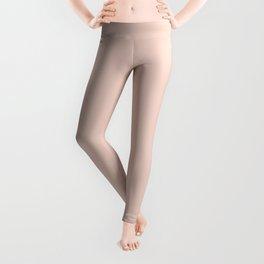 Pink Sand Pale Rose Gold Nude Leggings