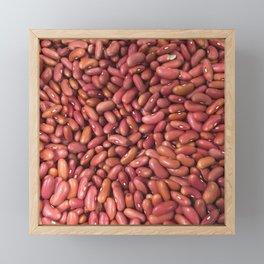 Red Beans Framed Mini Art Print