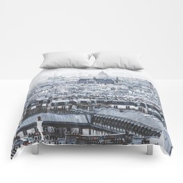 Rooftops - Architecture, Photography Comforters