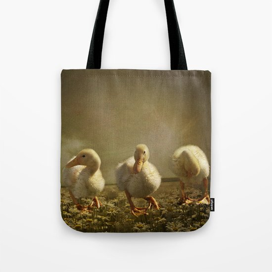 Dancing On Daisies Tote Bag