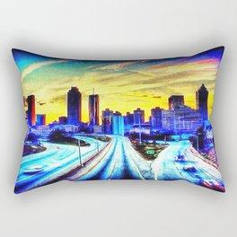 Good Morning Atlanta Rectangular Pillow