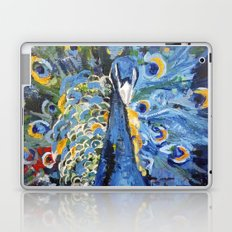 Blue Peacock  Laptop & iPad Skin