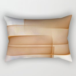 Abstract layers of reality Rectangular Pillow