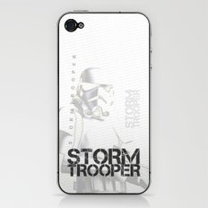 Star Wars Stormtrooper - Digital Art Print iPhone & iPod Skin