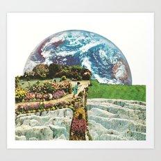 EDEN IN TRANSITION (2) Art Print