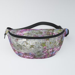 Colourful Blossoms Fanny Pack