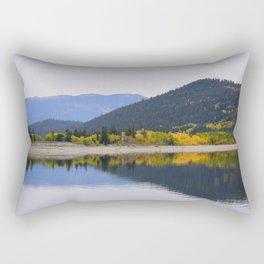 Fall Reflections Rectangular Pillow