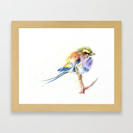 Badass Bird Framed Art Print