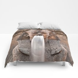 Sphinx Fountain Comforters