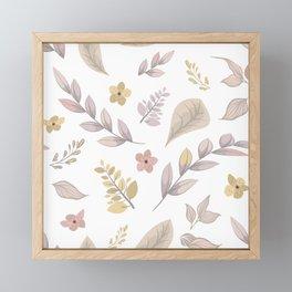 Flower Design Series 14 Framed Mini Art Print