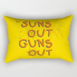 Guns Out Rectangular Pillow