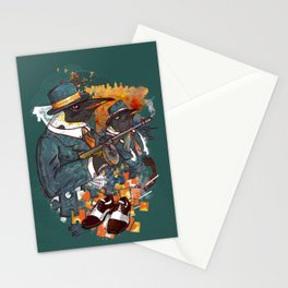 Mobster Puzzle Stationery Cards