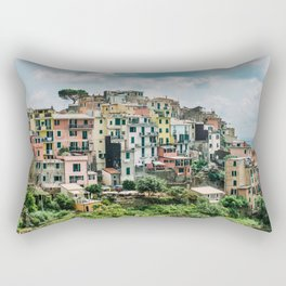 "Travel photography print ""North Italy"" photo art made in Italy. Art Print Rectangular Pillow"