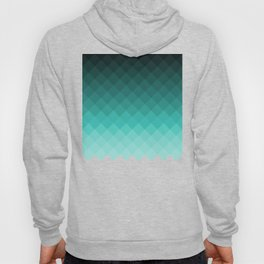 Ombre squares Hoody