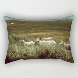 a peaceful moment Rectangular Pillow