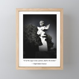 Angel of Hope Framed Mini Art Print