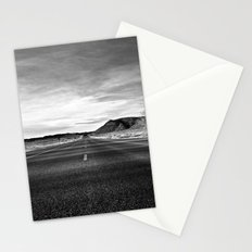middle of the road Stationery Cards
