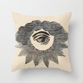 Vintage Magic Eye Throw Pillow