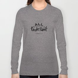 1 Nephi 8:37 Long Sleeve T-shirt