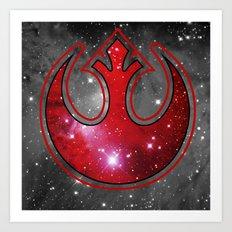 Space Rebel Art Print