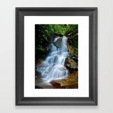 Thai Waterfall Framed Art Print