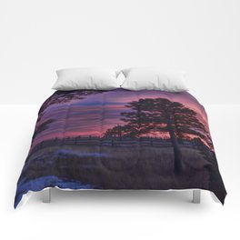 Behind The Sunset Comforters