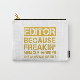 EDITOR Carry-All Pouch