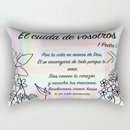 Flores - Pedro 5, 7 Rectangular Pillow