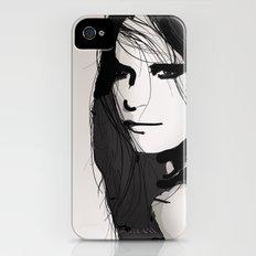 Face- Vogue iPhone (4, 4s) Slim Case