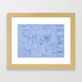 Solowing Framed Art Print